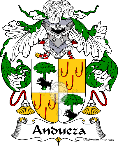 Coat of arms of family Andueza - ref:36261