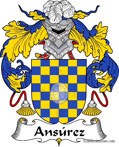 Coat of arms of family Ansúrez - ref:36273