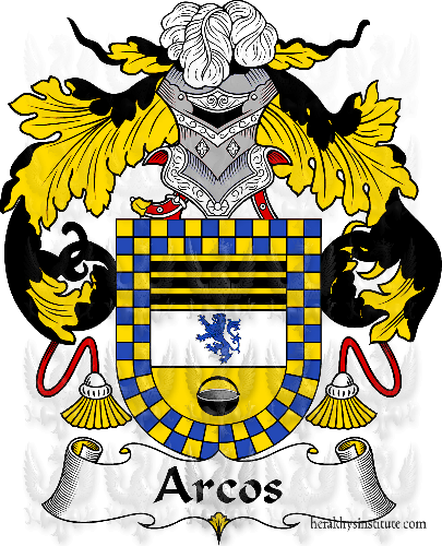Coat of arms of family Arcos II - ref:36302