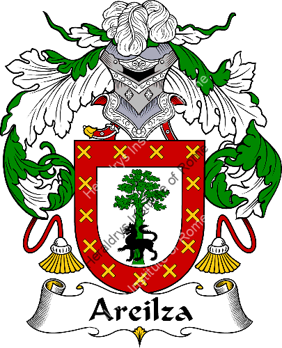 Coat of arms of family Areilza - ref:36305