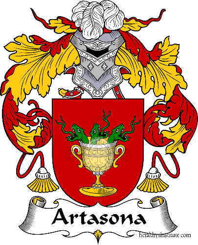 Coat of arms of family Artasona - ref:36348