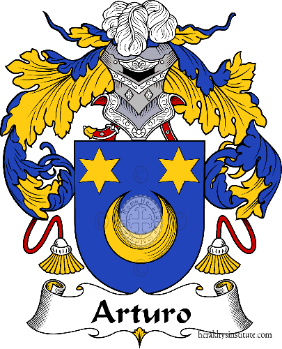 Coat of arms of family Arturo - ref:36355