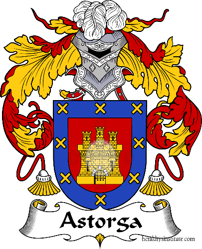 Coat of arms of family Astorga - ref:36360