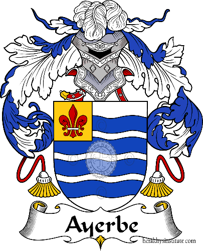 Coat of arms of family Ayerbe - ref:36369