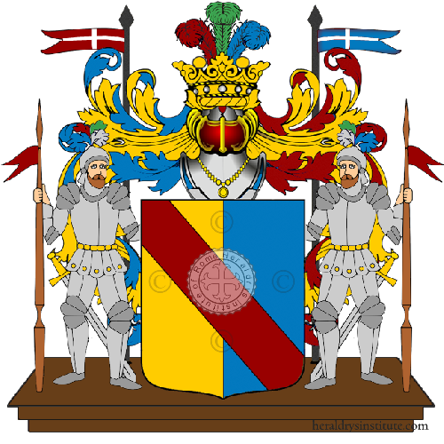 Coat of Arms of family Menzo