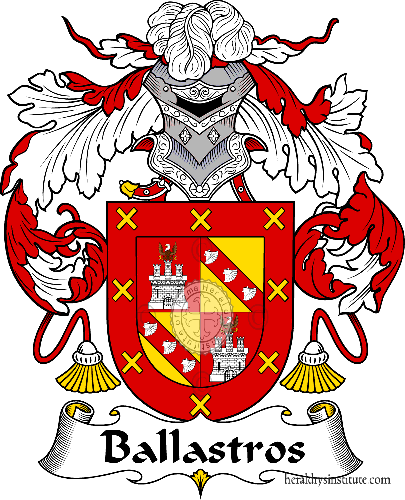 Coat of arms of family Ballastros - ref:36399