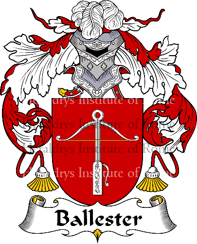 Coat of arms of family Ballester - ref:36402