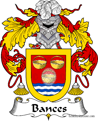 Coat of arms of family Bances - ref:36404