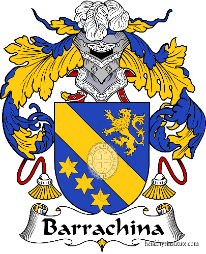 Coat of arms of family Barrachina - ref:36429