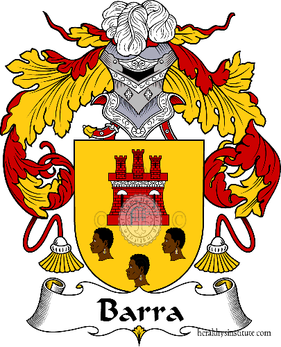 Coat of arms of family Barra - ref:36433