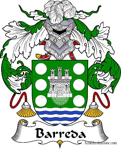 Coat of arms of family Barreda - ref:36434