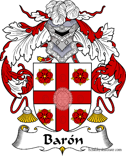 Coat of arms of family Barón - ref:36444