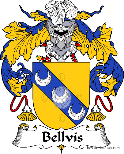 Coat of arms of family Bellvís - ref:36474