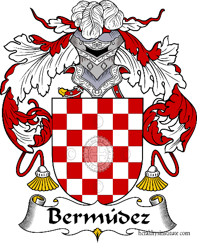 Coat of arms of family Bermúdez - ref:36490