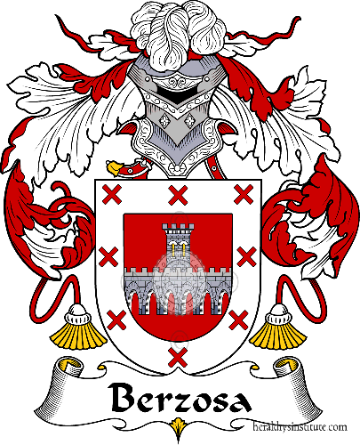 Coat of arms of family Berzosa - ref:36499