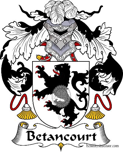 Coat of arms of family Betancourt - ref:36502