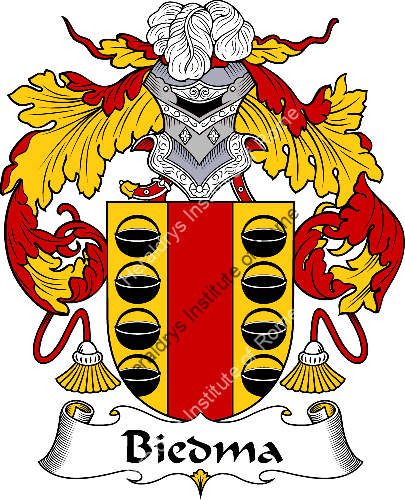 Coat of arms of family Biedma - ref:36505