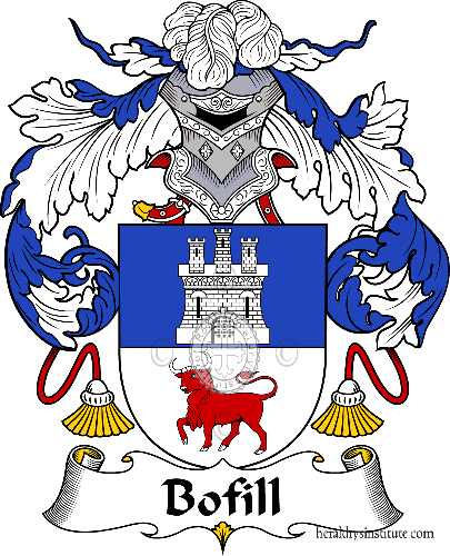 Coat of arms of family Bofill - ref:36516