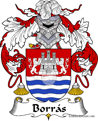 Coat of arms of family Borrás