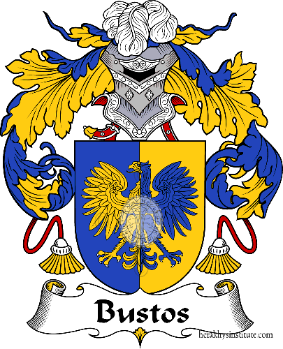 Coat of arms of family Bustos or Busto - ref:36545