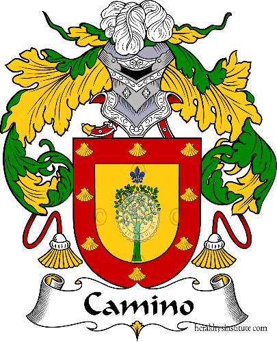 Coat of arms of family Camino - ref:36582