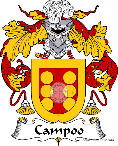 Coat of arms of family Campoo - ref:36586