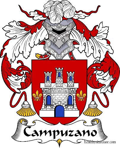 Coat of arms of family Campuzano - ref:36589