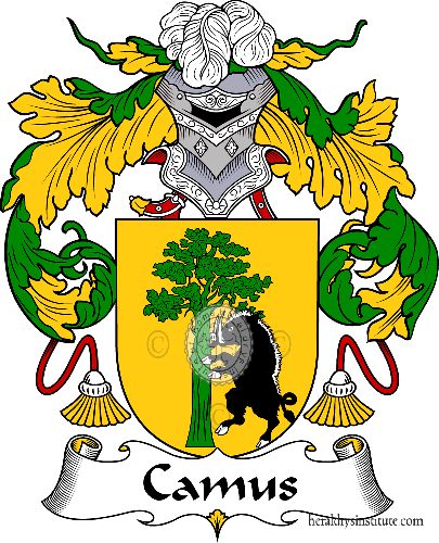 Coat of arms of family Camus - ref:36590