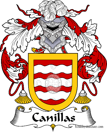 Coat of arms of family Canillas - ref:36594