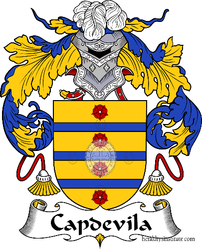 Coat of arms of family Capdevila - ref:36599
