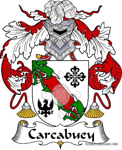 Coat of arms of family Carcabuey - ref:36605