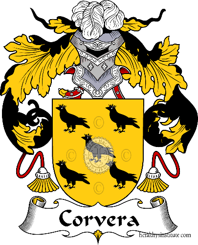 Coat of arms of family Corvera