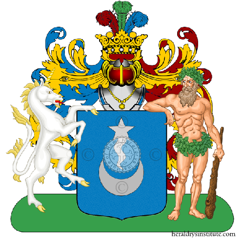 Coat of Arms of family Sansina