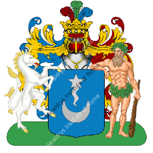 Coat of Arms of family Sansiveri