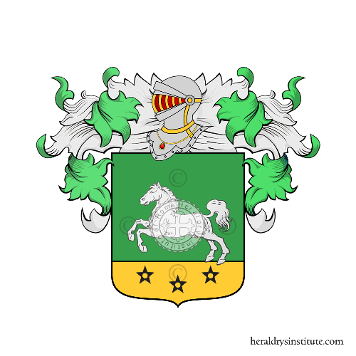 Coat of Arms of family Fadini