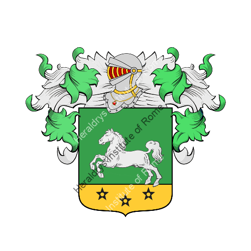 Coat of arms of family sergio