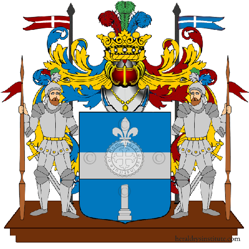 Coat of Arms of family Elfani