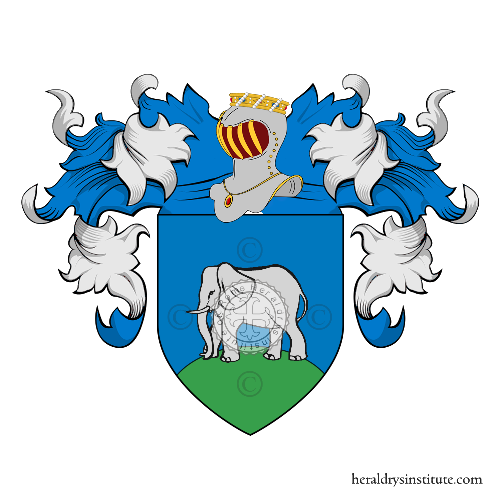 Coat of Arms of family Fanti