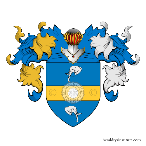 Coat of Arms of family Baga Quiroz