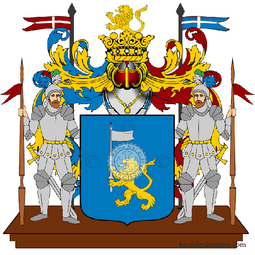 Coat of Arms of family Scolareci