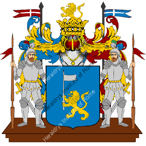 Coat of Arms of family Scolavino