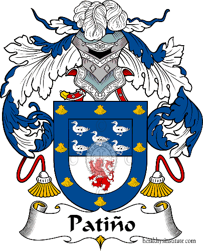 Coat of arms of family Patiño ref: 37349