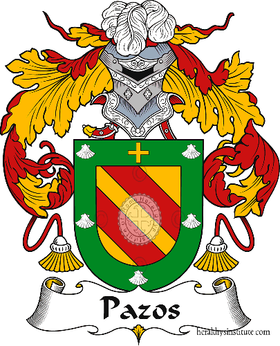 Coat of arms of family Pazos
