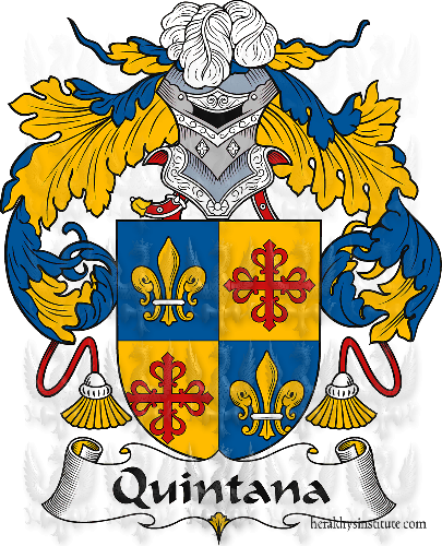 Coat of arms of family Quintana
