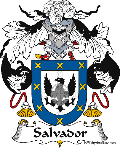 Coat of arms of family Salvador