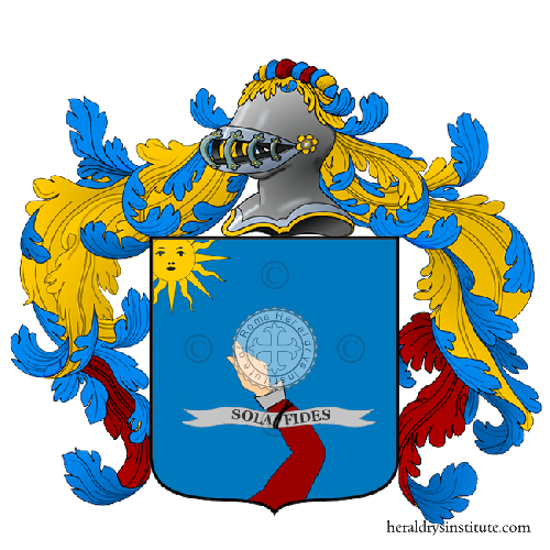 Coat of Arms of family Radesca