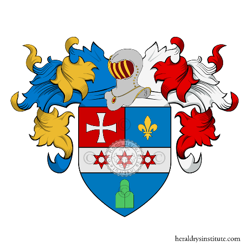 Coat of Arms of family Palasca