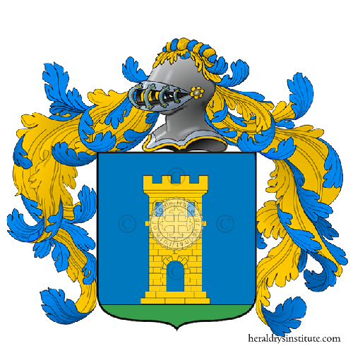 Coat of Arms of family Tonni