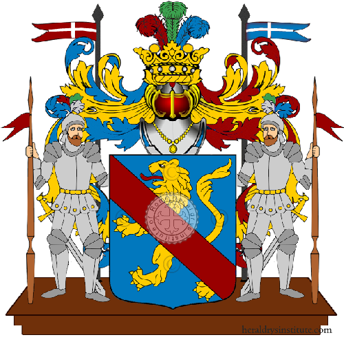 Coat of Arms of family Dessordi