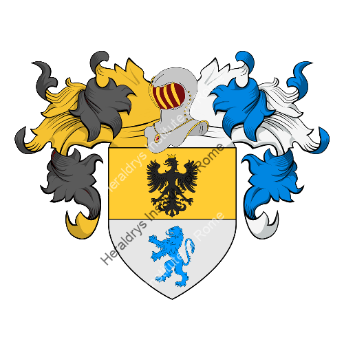 Coat of Arms of family Palette